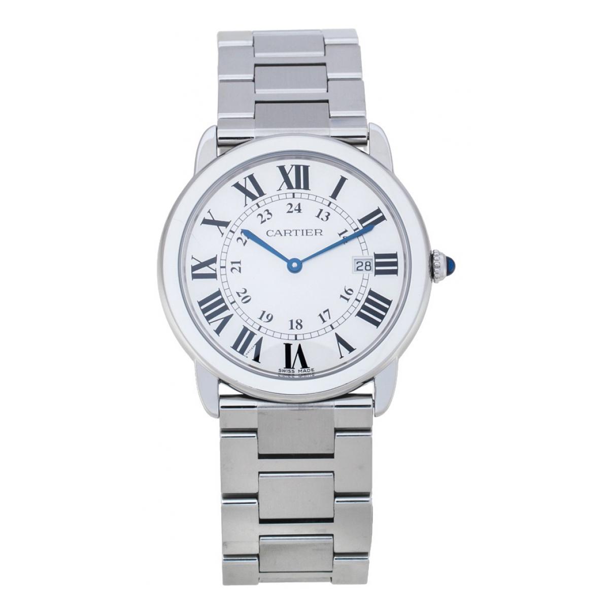 Relojes Ronde Solo Cartier