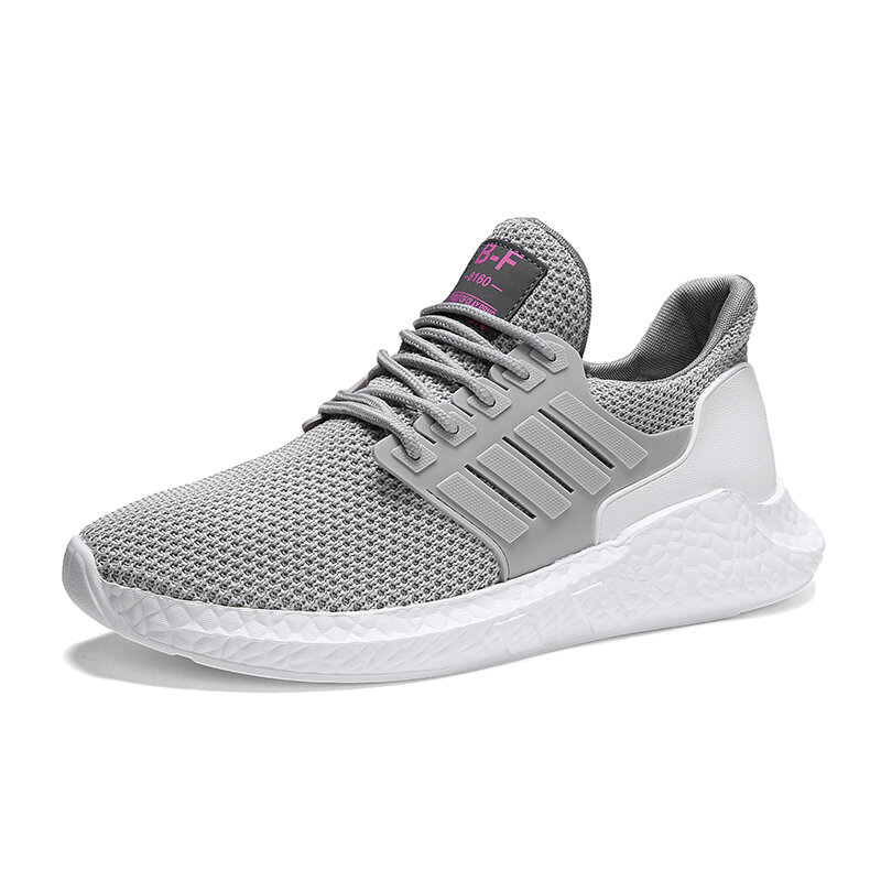 Men Comfy Breathable Lightweight Running Casual Sneakers