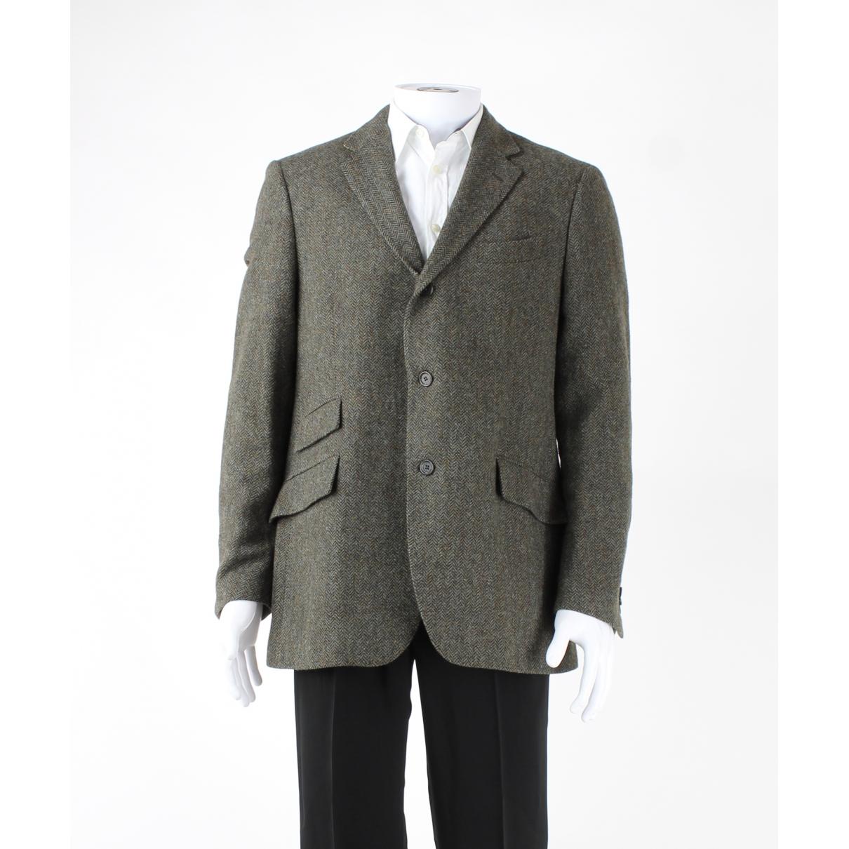 Etro \N Brown Wool jacket  for Men 54 IT