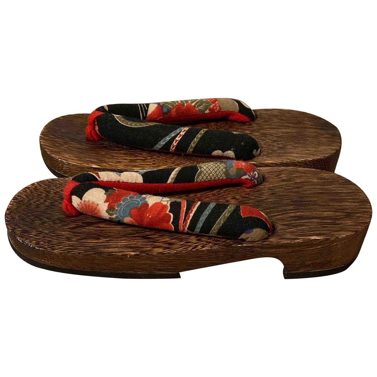 Non Signé / Unsigned \N Multicolour Cloth Sandals for Women 37 EU