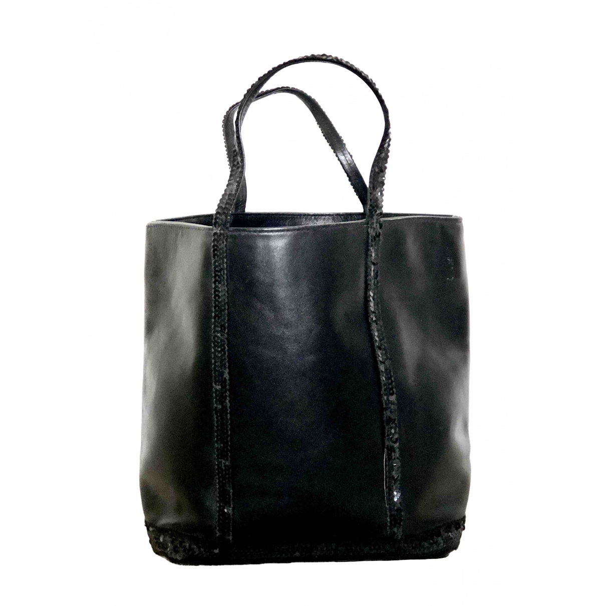 Vanessa Bruno Cabas Black Leather handbag for Women \N