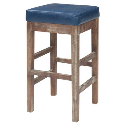 108627B-V05 Valencia Bonded Leather Counter Stool  in Vintage