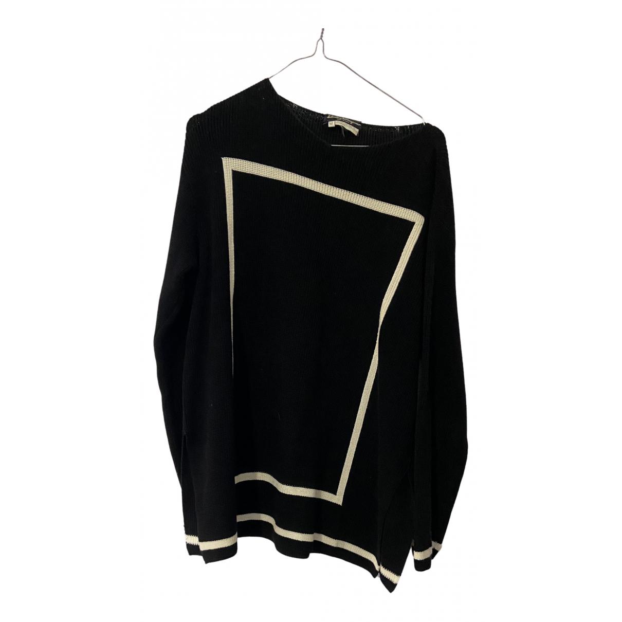 Salvatore Ferragamo N Black Cotton Knitwear for Women M International