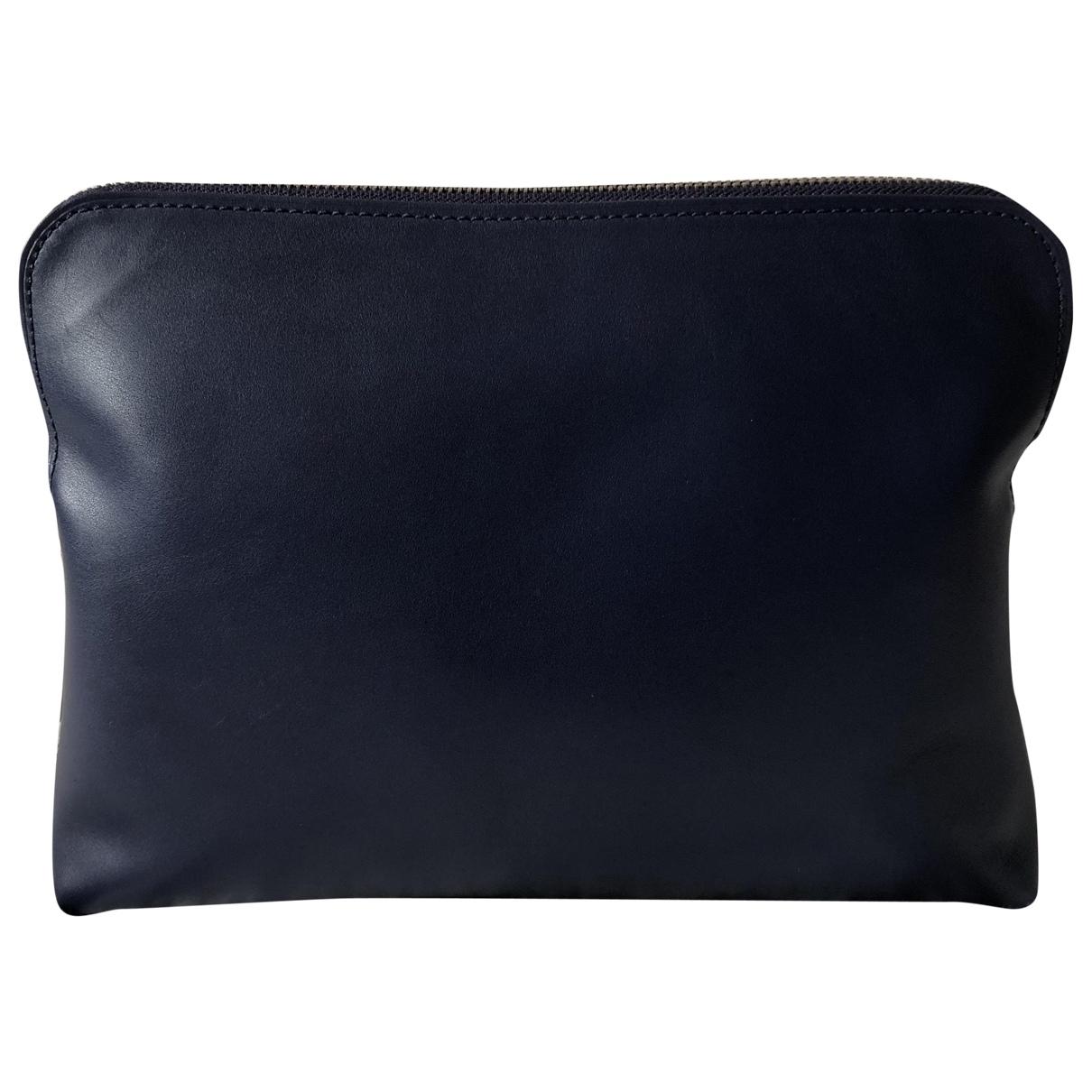 3.1 Phillip Lim - Pochette   pour femme en cuir - bleu