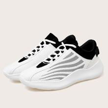 Maenner Sneakers mit weiter Passform