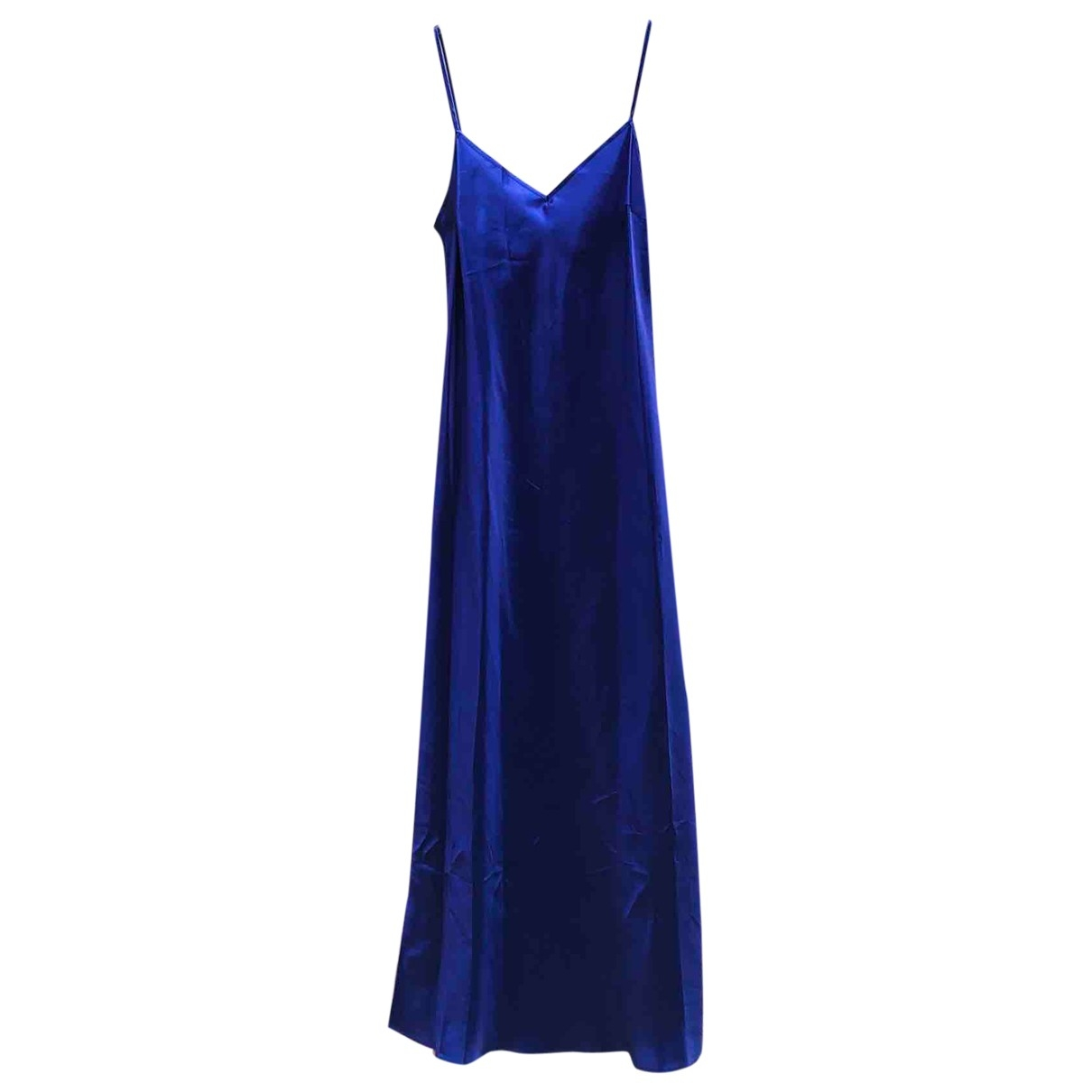 Laura Urbinati \N Purple Silk dress for Women 44 IT