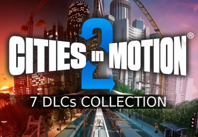 Cities in Motion 2 - 7 DLCs Collection Steam CD Key