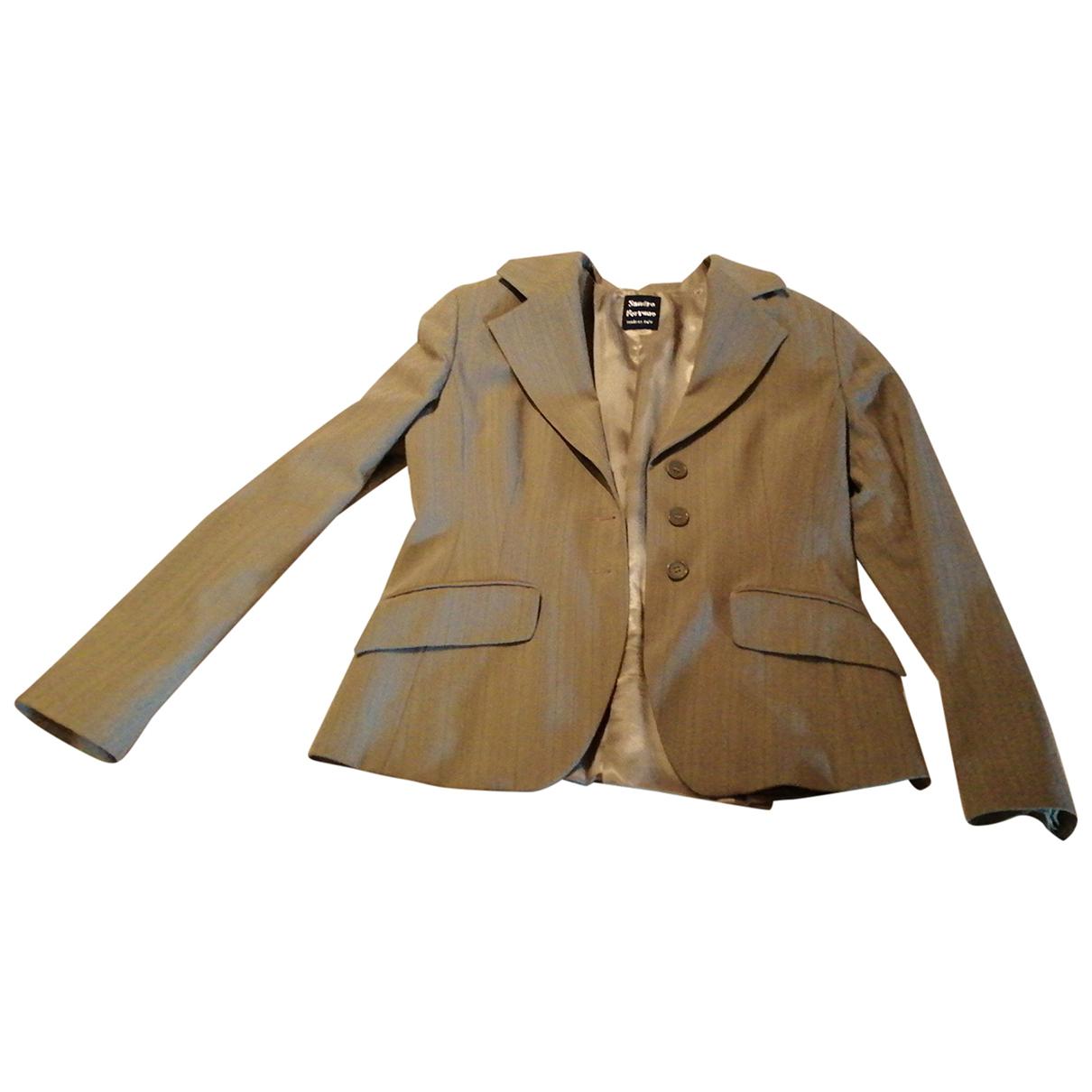 Autre Marque N Grey jacket for Women 44 IT
