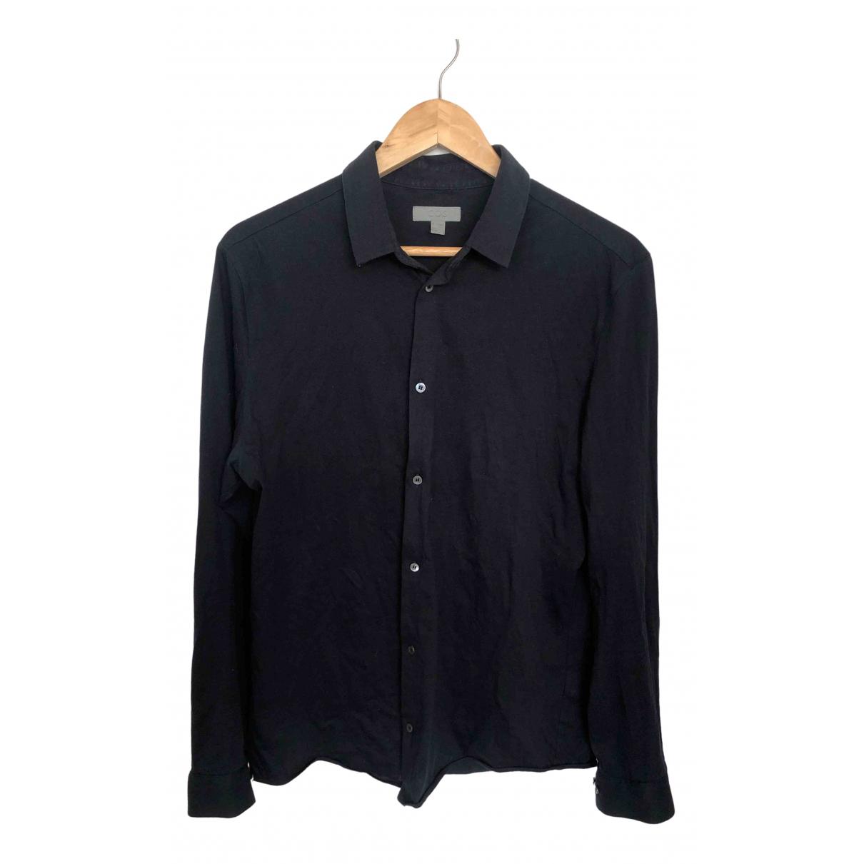 Cos \N Navy Cotton Shirts for Men M International