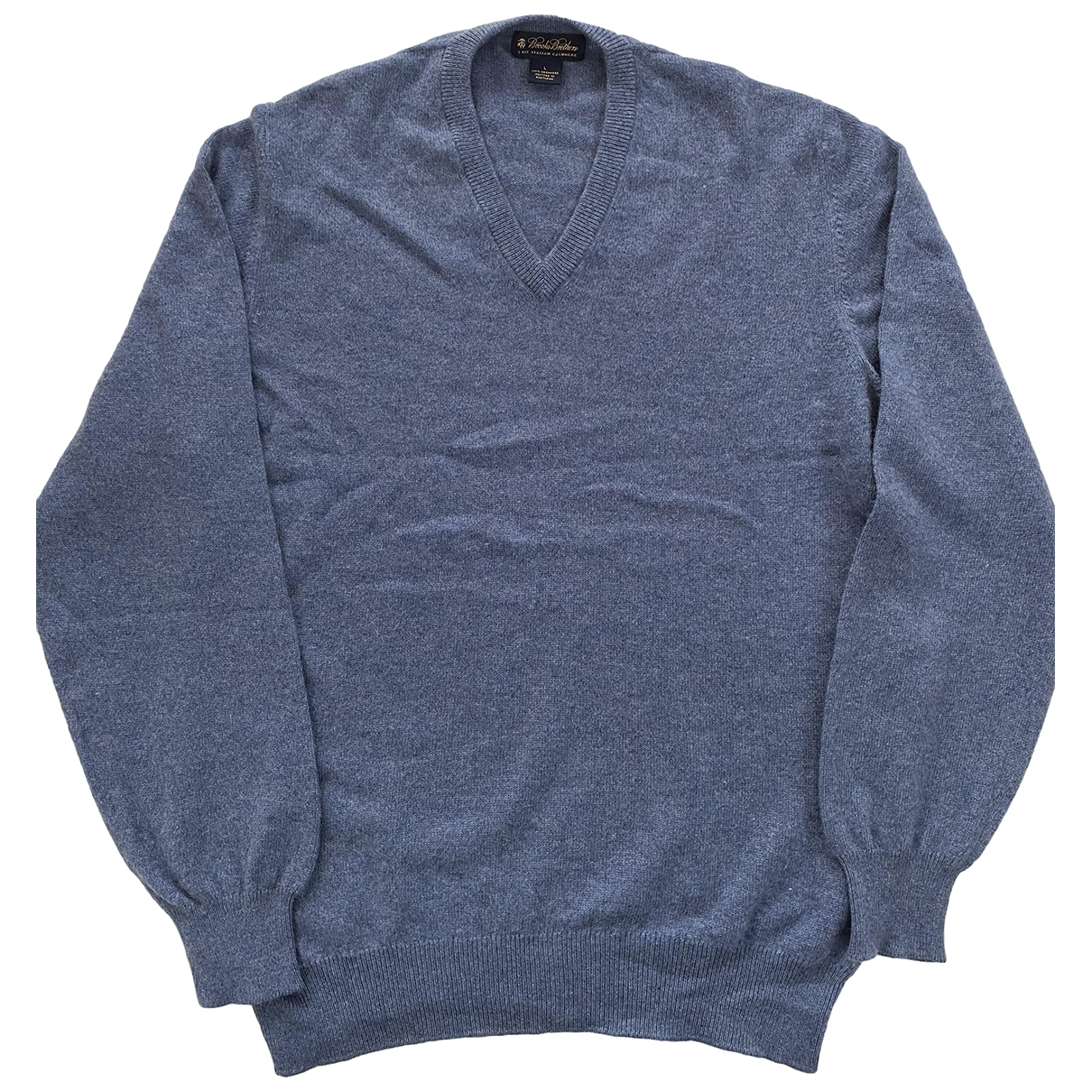 Brooks Brothers \N Pullover.Westen.Sweatshirts  in  Tuerkis Kaschmir