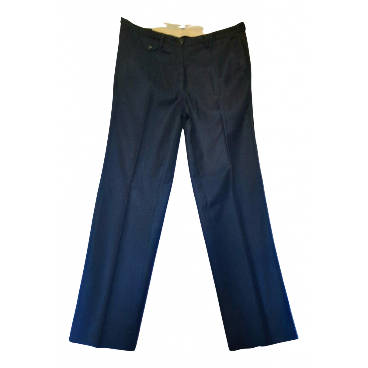 Golden Goose \N Blue Cashmere Trousers for Women 42 IT