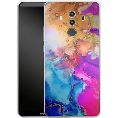 Huawei Mate 10 Pro Silikon Handyhuelle - Cosmic Swirl III von Stella Lightheart