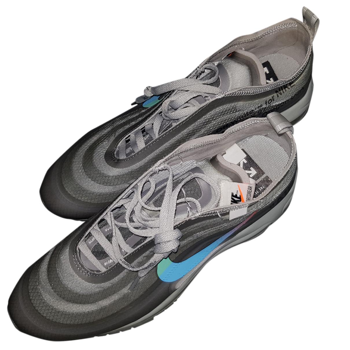 Nike X Off-white - Baskets Air max 97 pour homme en toile - gris