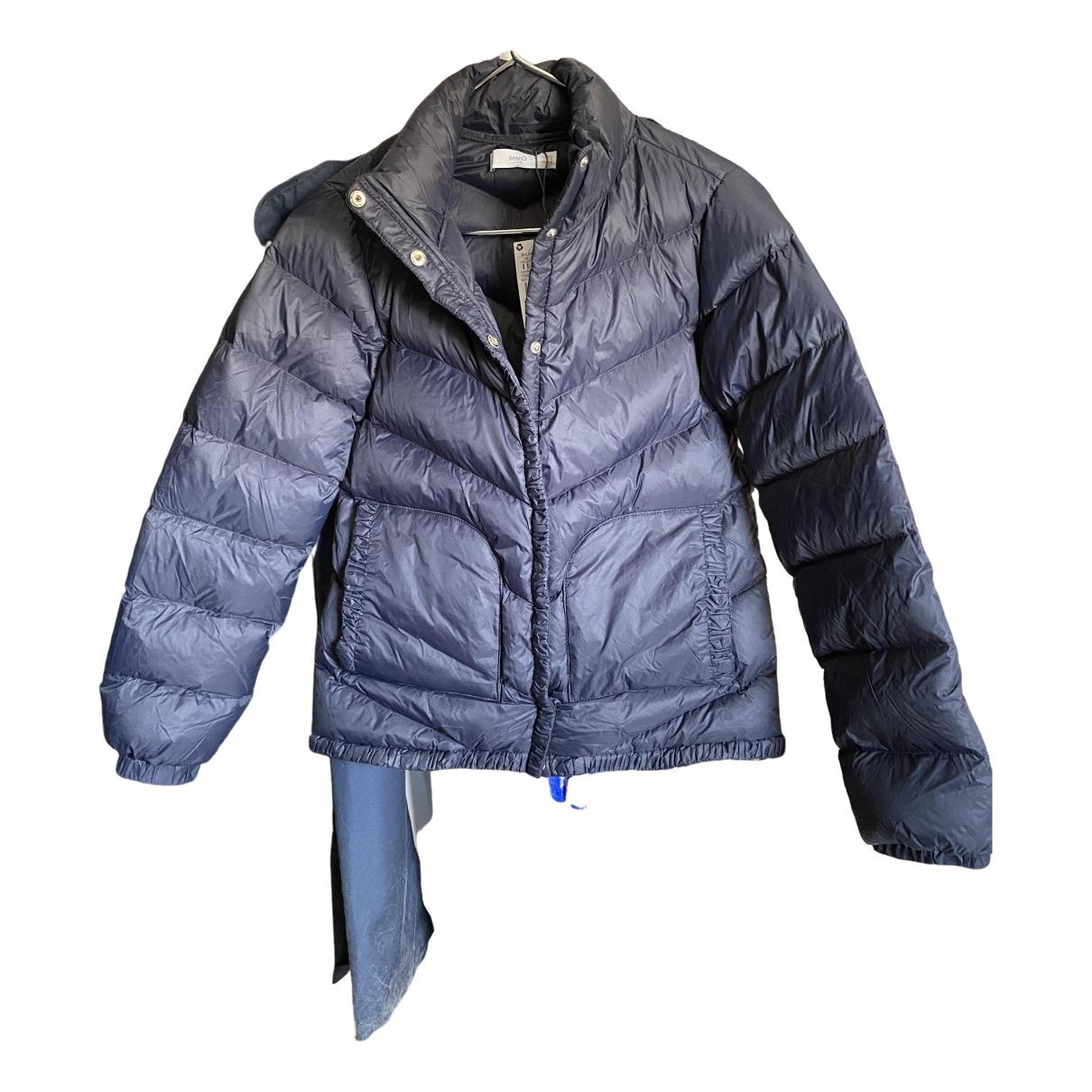 Mango - Blousons.Manteaux   pour enfant - marine