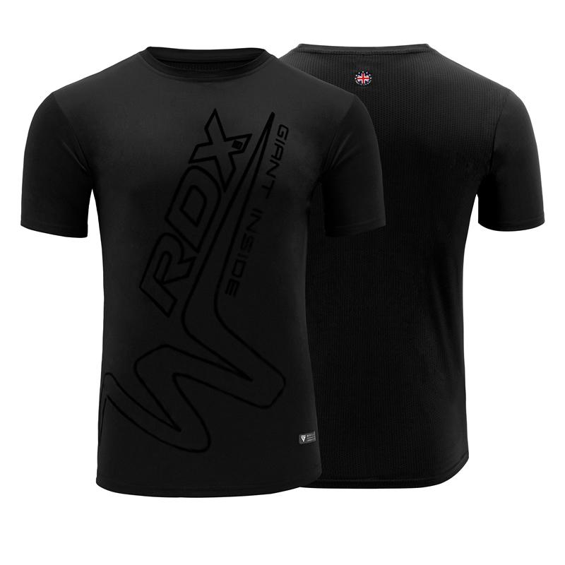 RDX T15 Noir T-Shirt Grande Polyester