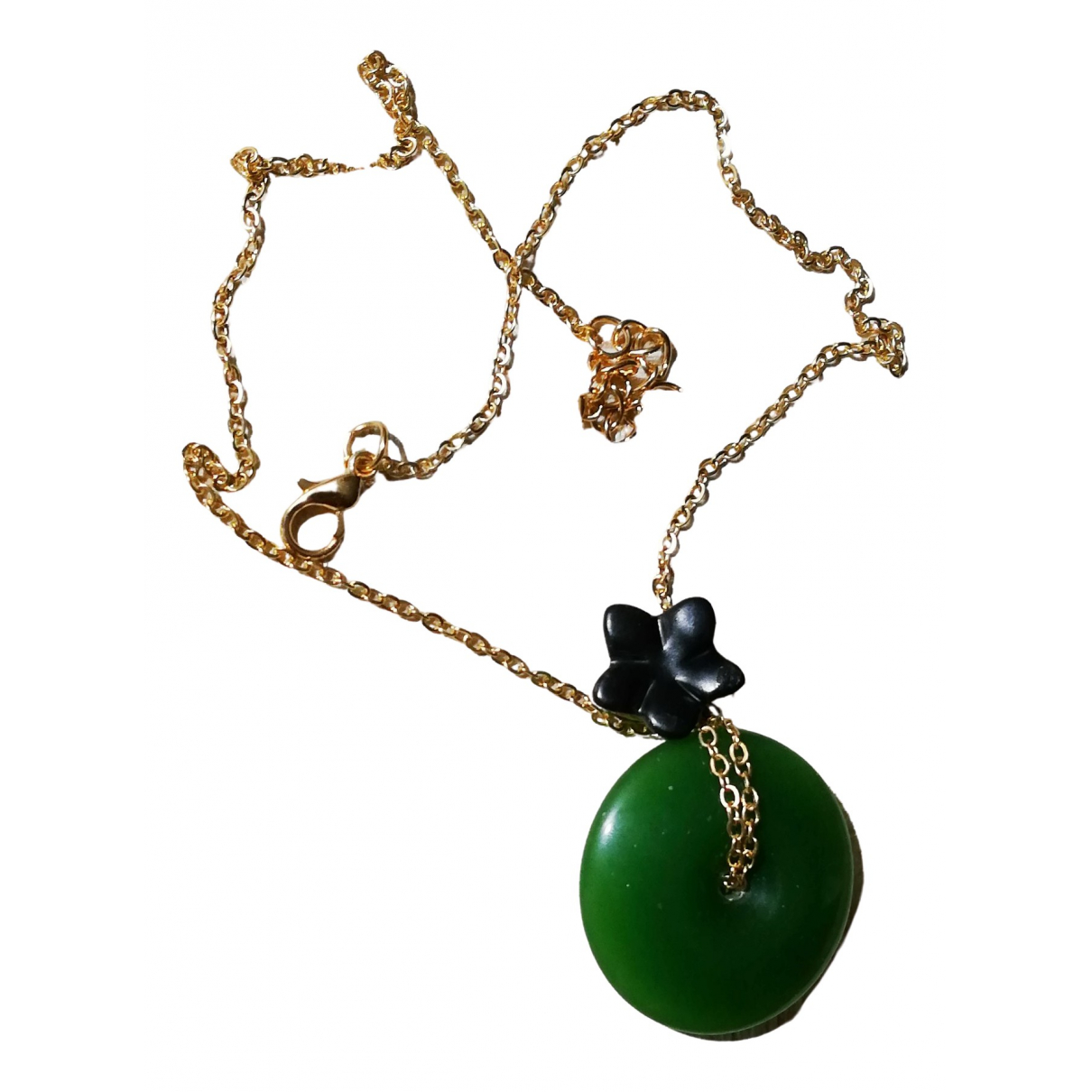 & Other Stories - Collier   pour femme en jade - vert