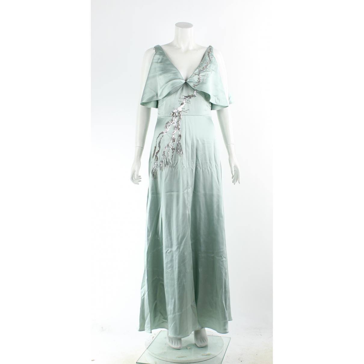 Temperley London \N Kleid in  Gruen Viskose