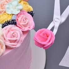 Tejira decorativa de pastel