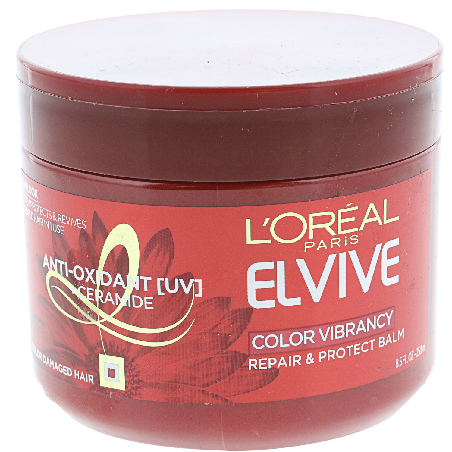 L'oreal Elvive Color Vibrancy Repair And Protect Balm Hair Treatment 30S501F