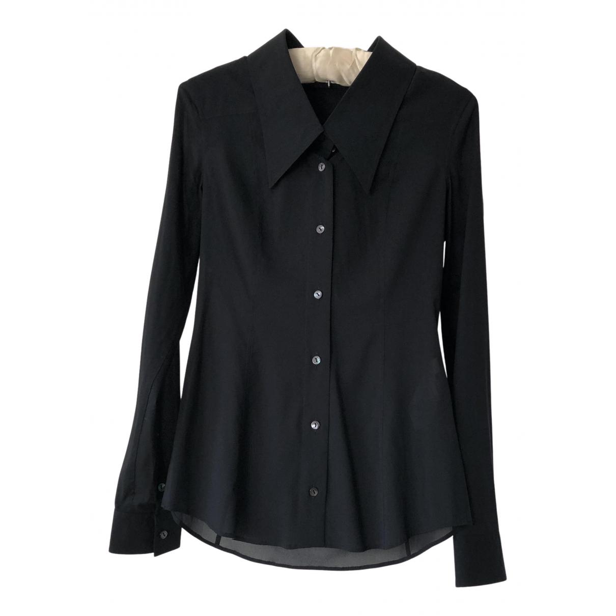 Dolce & Gabbana N Black Silk  top for Women 40 IT