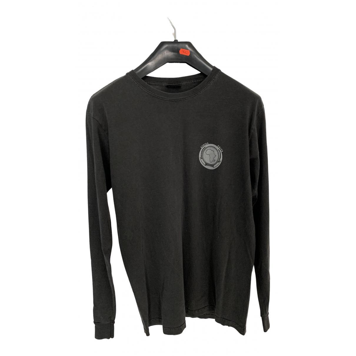 Stussy \N T-Shirts in  Grau Baumwolle