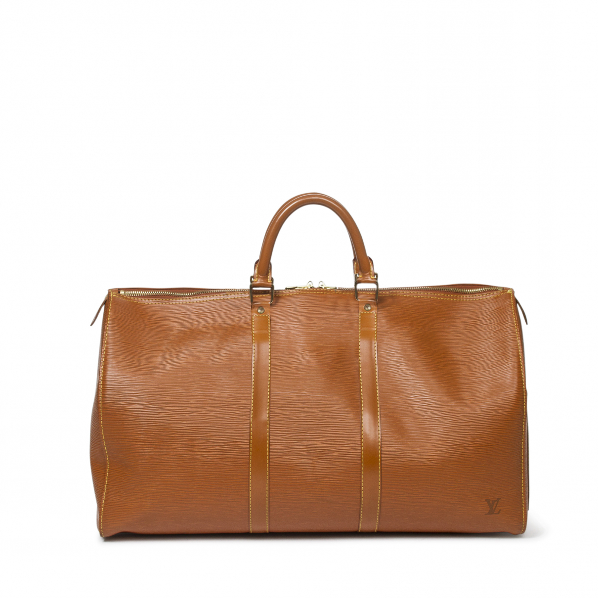 Louis Vuitton \N Gold Leather Travel bag for Women \N