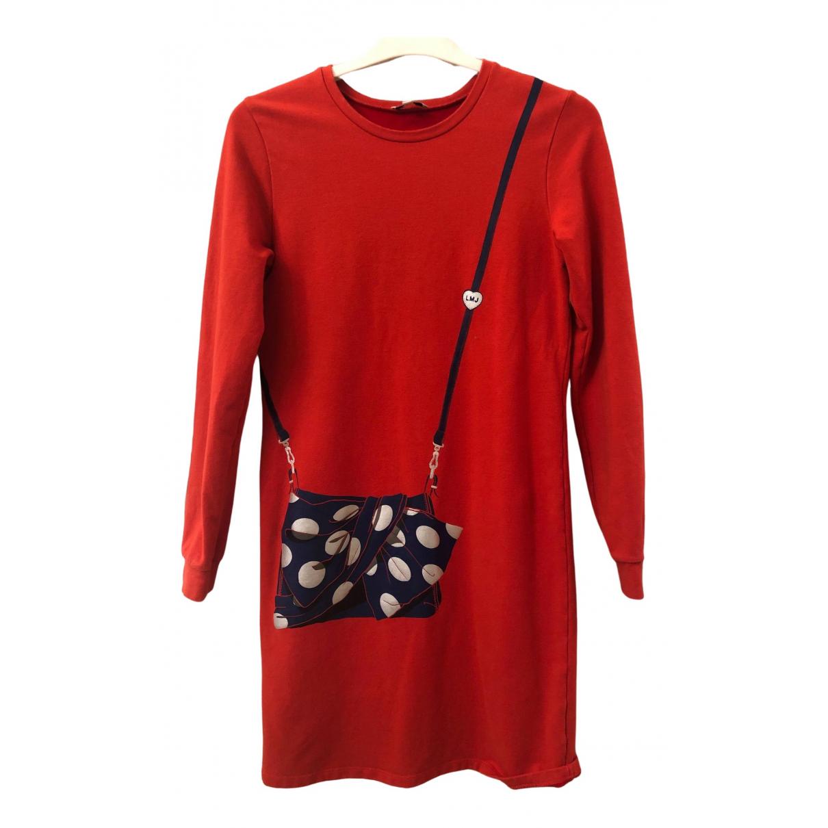 Little Marc Jacobs - Robe    pour enfant en coton - rouge
