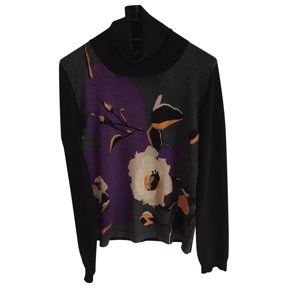 Galliano - Pull   pour femme en laine - multicolore