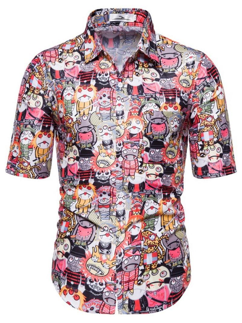 Ericdress Casual Loose Summer Shirt