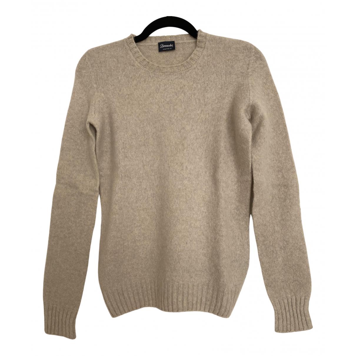 Drumohr - Pull   pour femme en laine - beige