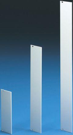 Rittal 19-inch Front Panel, 3U, 12HP, Unpainted, Aluminium