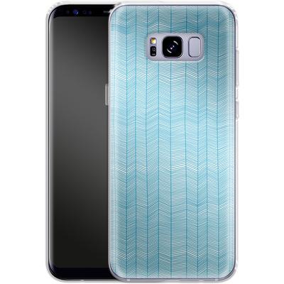 Samsung Galaxy S8 Plus Silikon Handyhuelle - Fishbone von caseable Designs