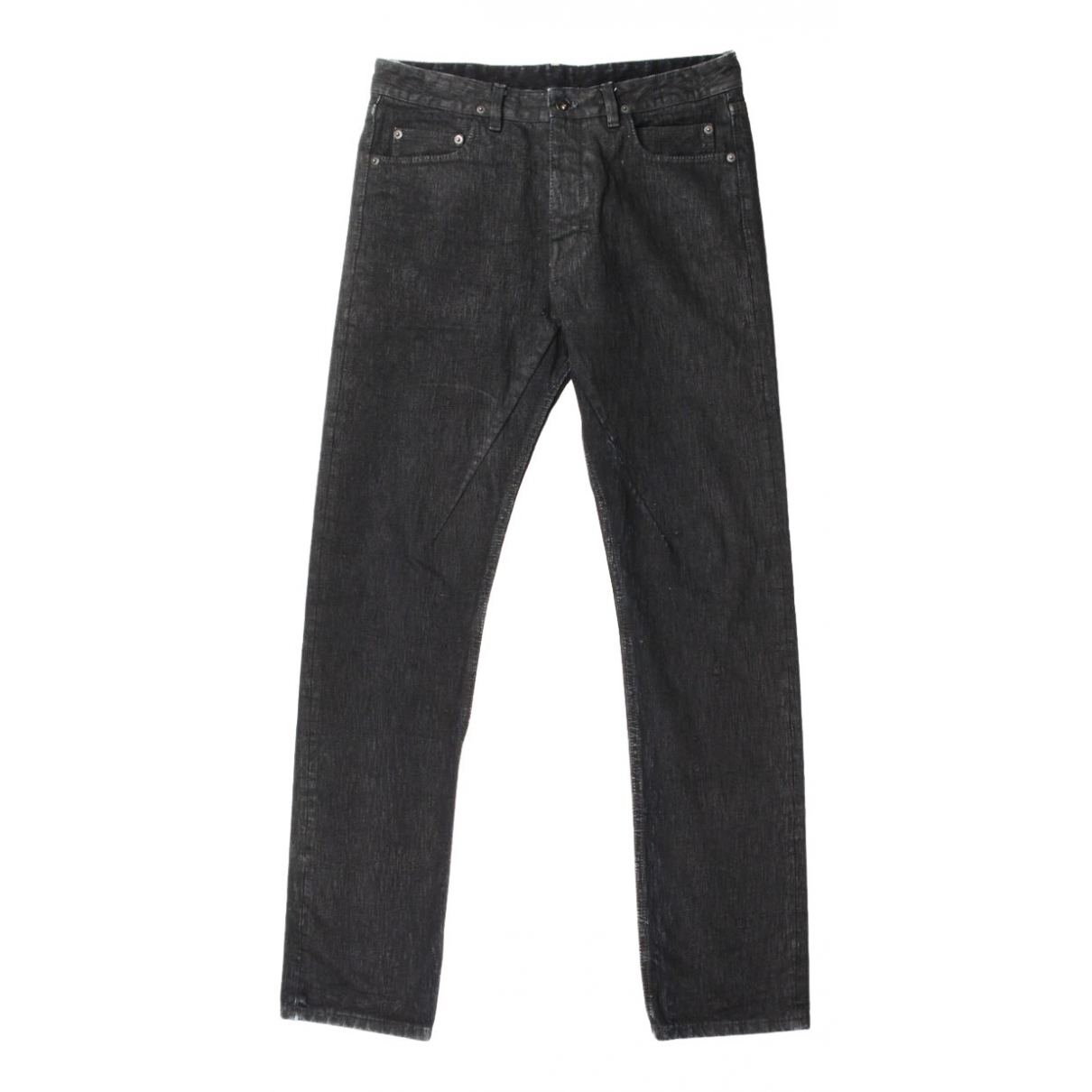 Rick Owens Drkshdw N Black Cotton Jeans for Men 31 US