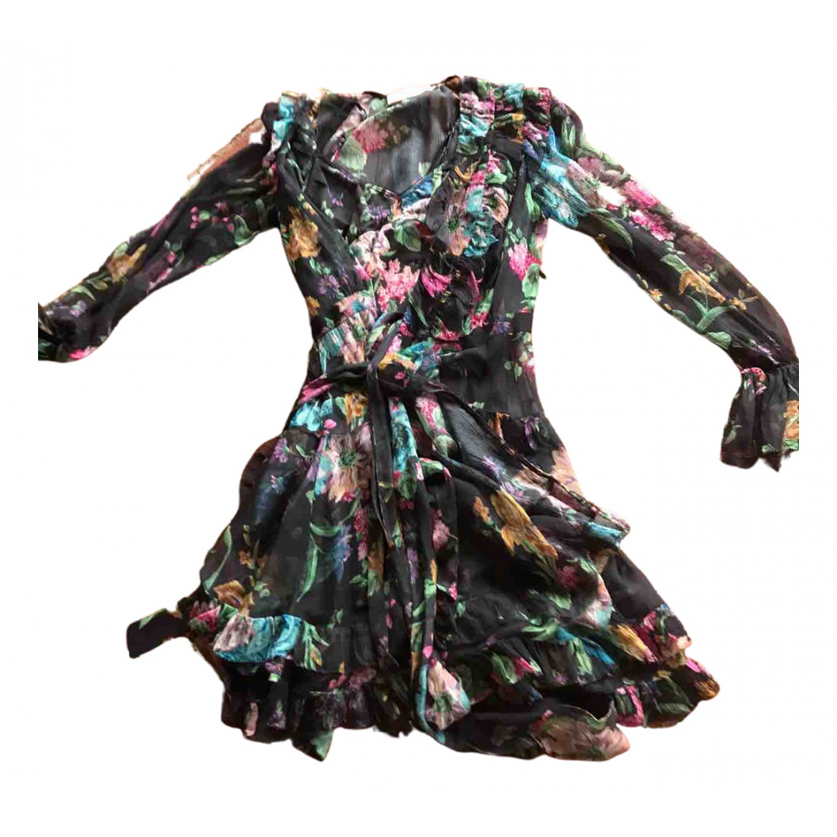 Zimmermann \N Kleid in  Bunt Synthetik