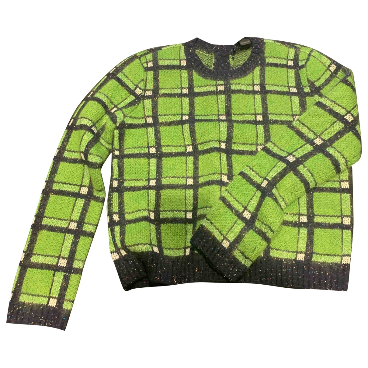 Marc By Marc Jacobs \N Pullover in  Gruen Wolle