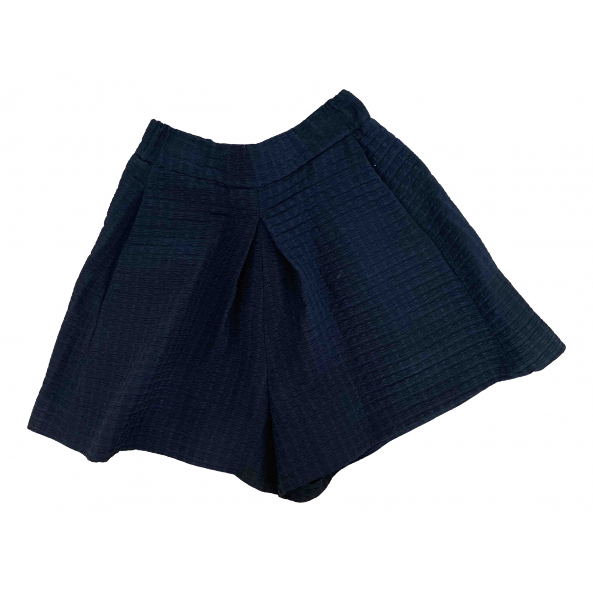Maje Spring Summer 2019 Shorts in  Schwarz Polyester