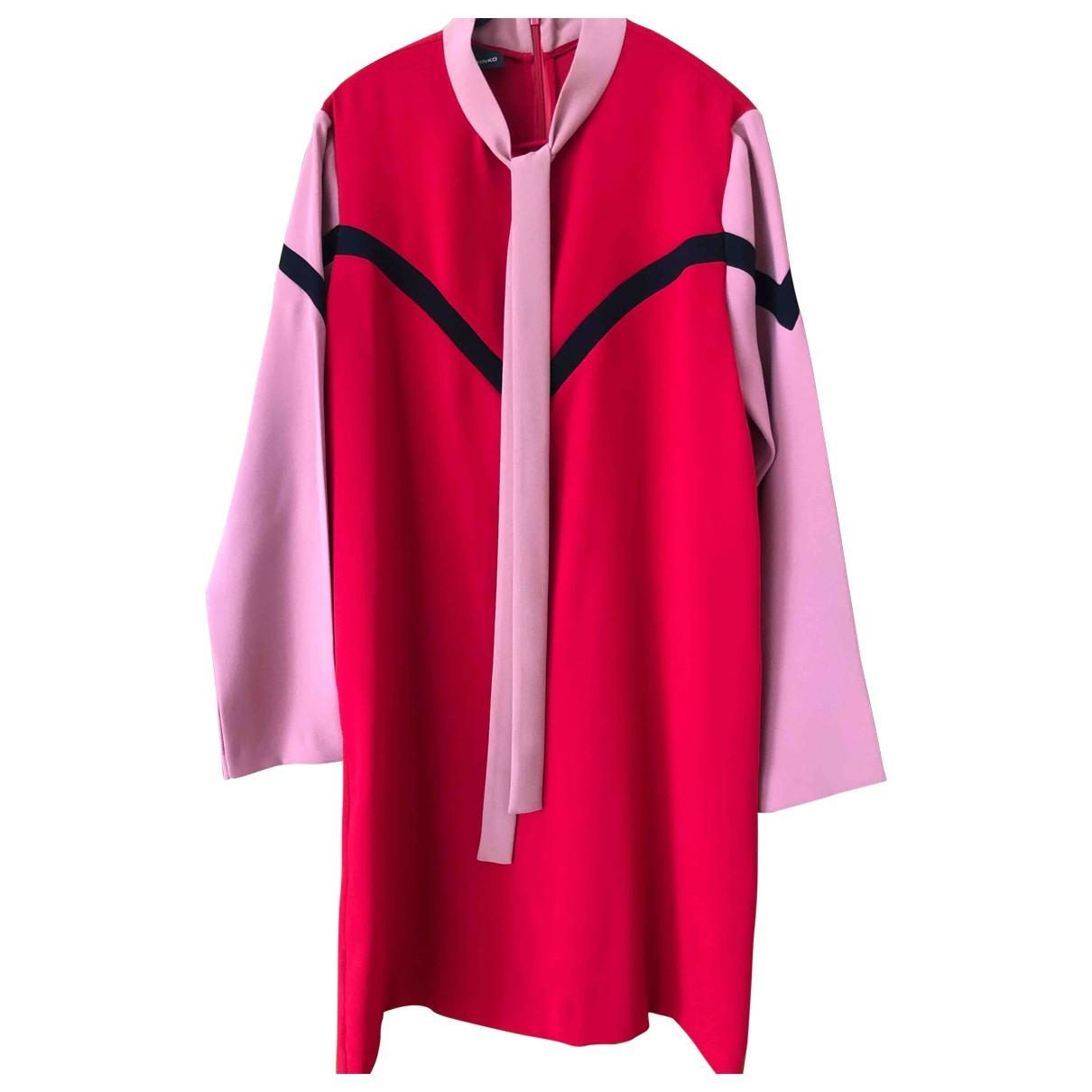 Pinko - Robe   pour femme - rouge