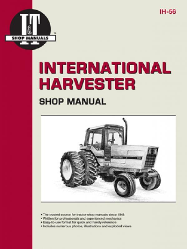 International Harvester (Farmall) 5088, 5288 & 5488 Tractor Service Repair Manual
