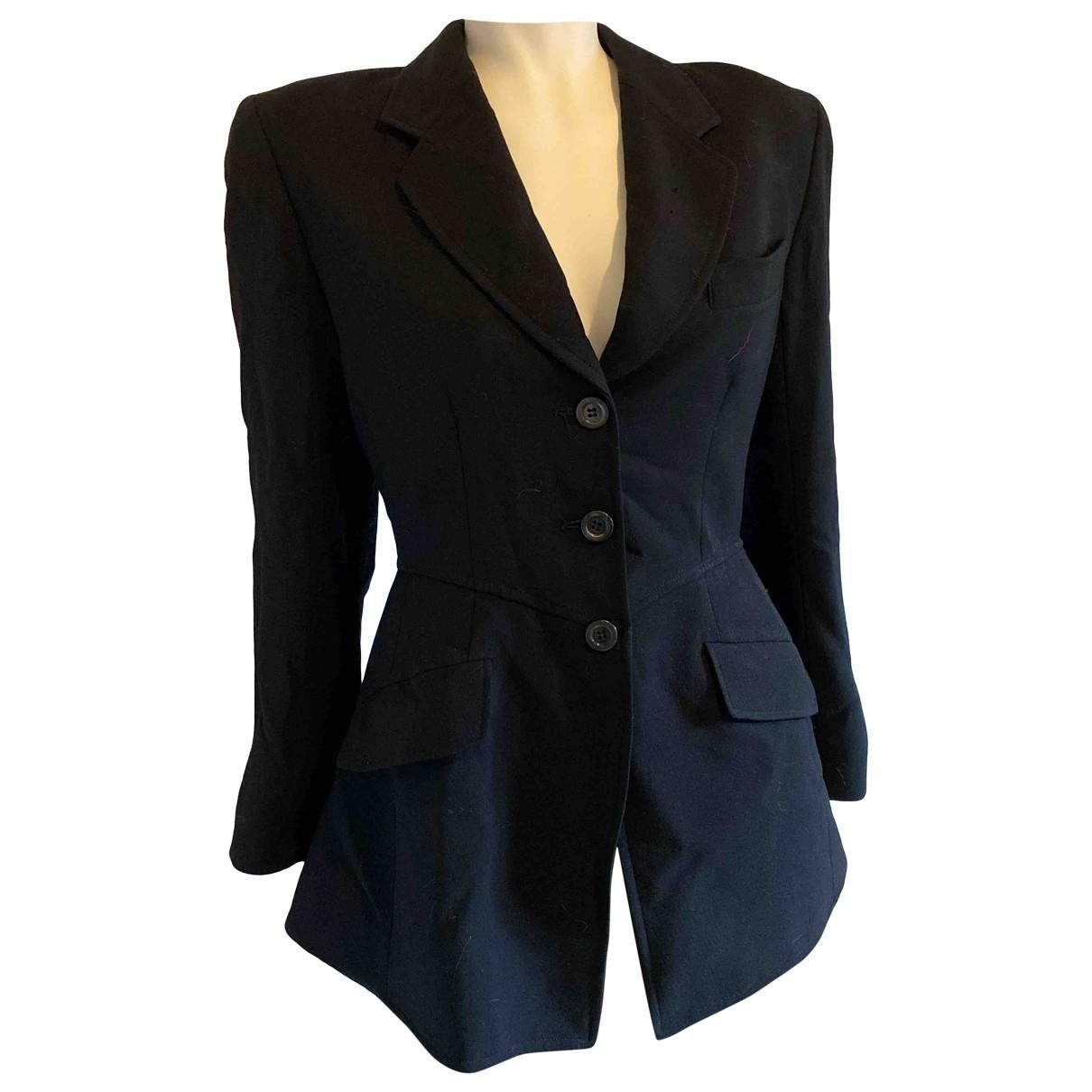 Kenzo \N Black Cotton jacket for Women 40 FR
