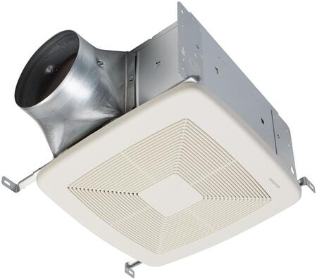 QTXE110150DC Energy Star Ventilation Fan with Selectable CFM  Hanger Bars and Galvanized Steel Construction in