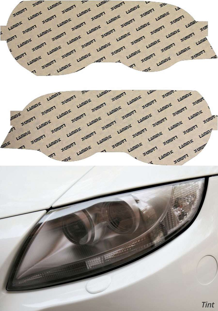 BMW 3-Series Coupe 00-03 Only Tint Headlight Covers Lamin-X B502T