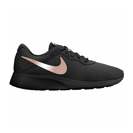 Nike Tanjun Womens Running Shoes, 8 Medium, Black