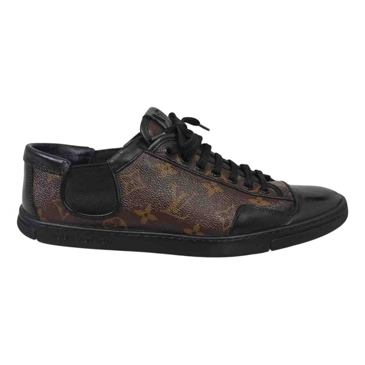 Louis Vuitton N Brown Cloth Trainers for Men 42 EU