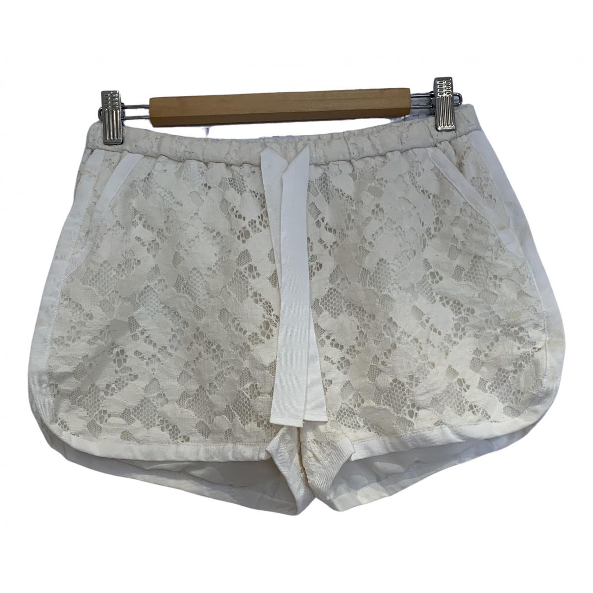 Sea New York \N Shorts in  Ecru Baumwolle