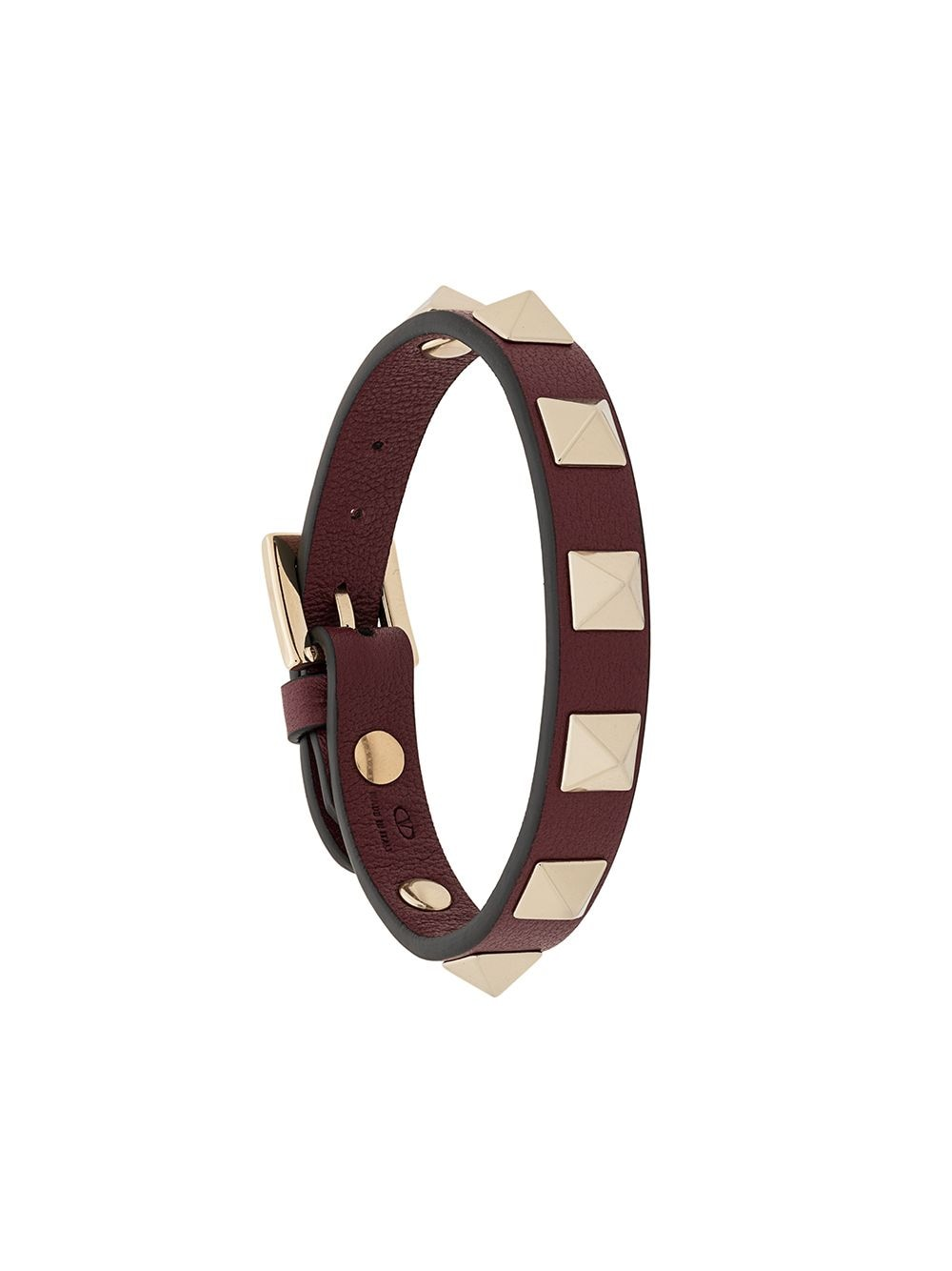 Rokcstud Leather Bracelet