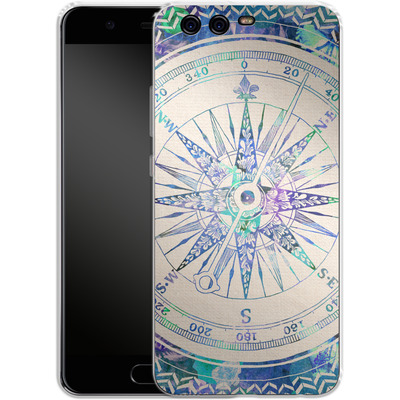 Huawei P10 Silikon Handyhuelle - Follow Your Own Path von Bianca Green