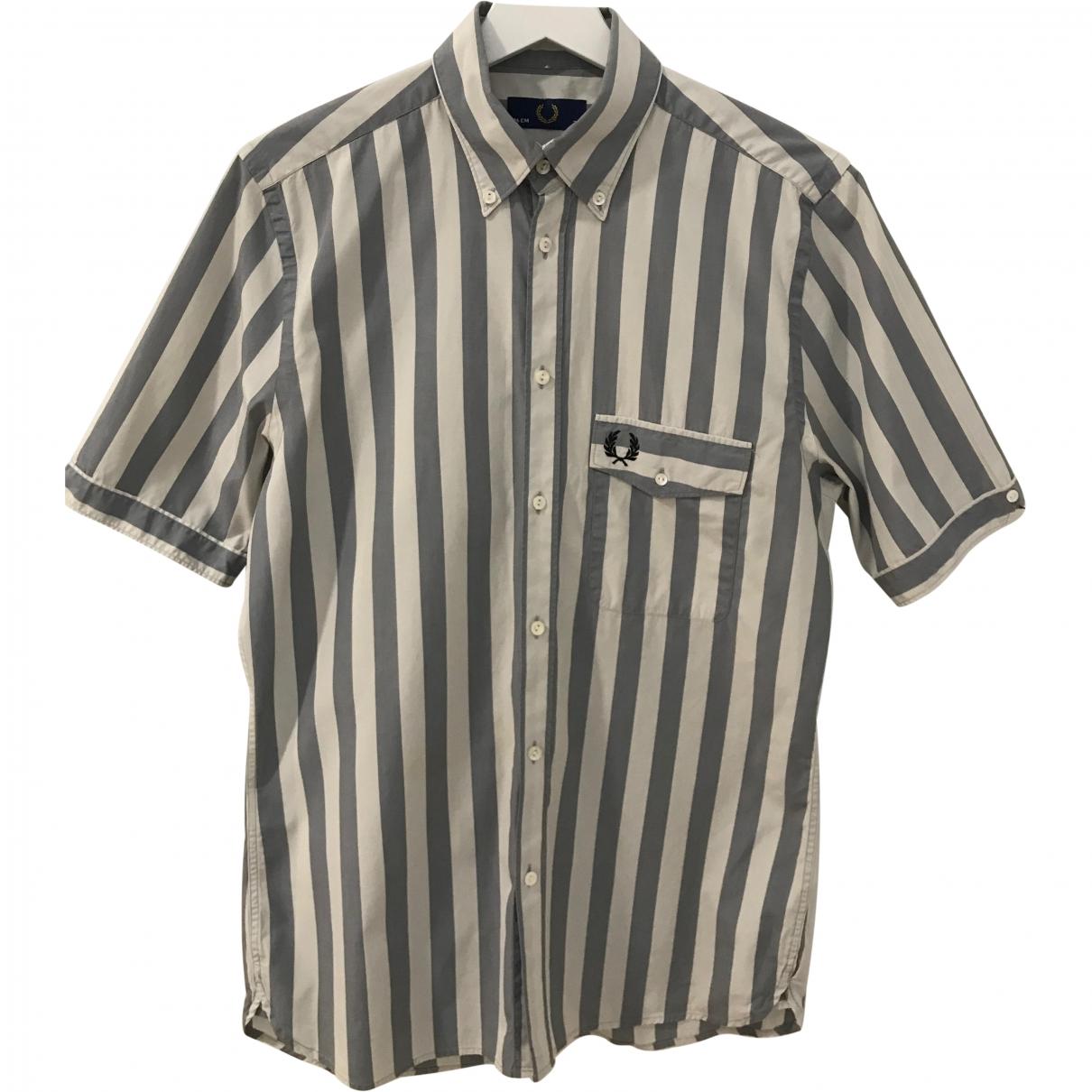 Fred Perry \N Hemden in  Schwarz Baumwolle