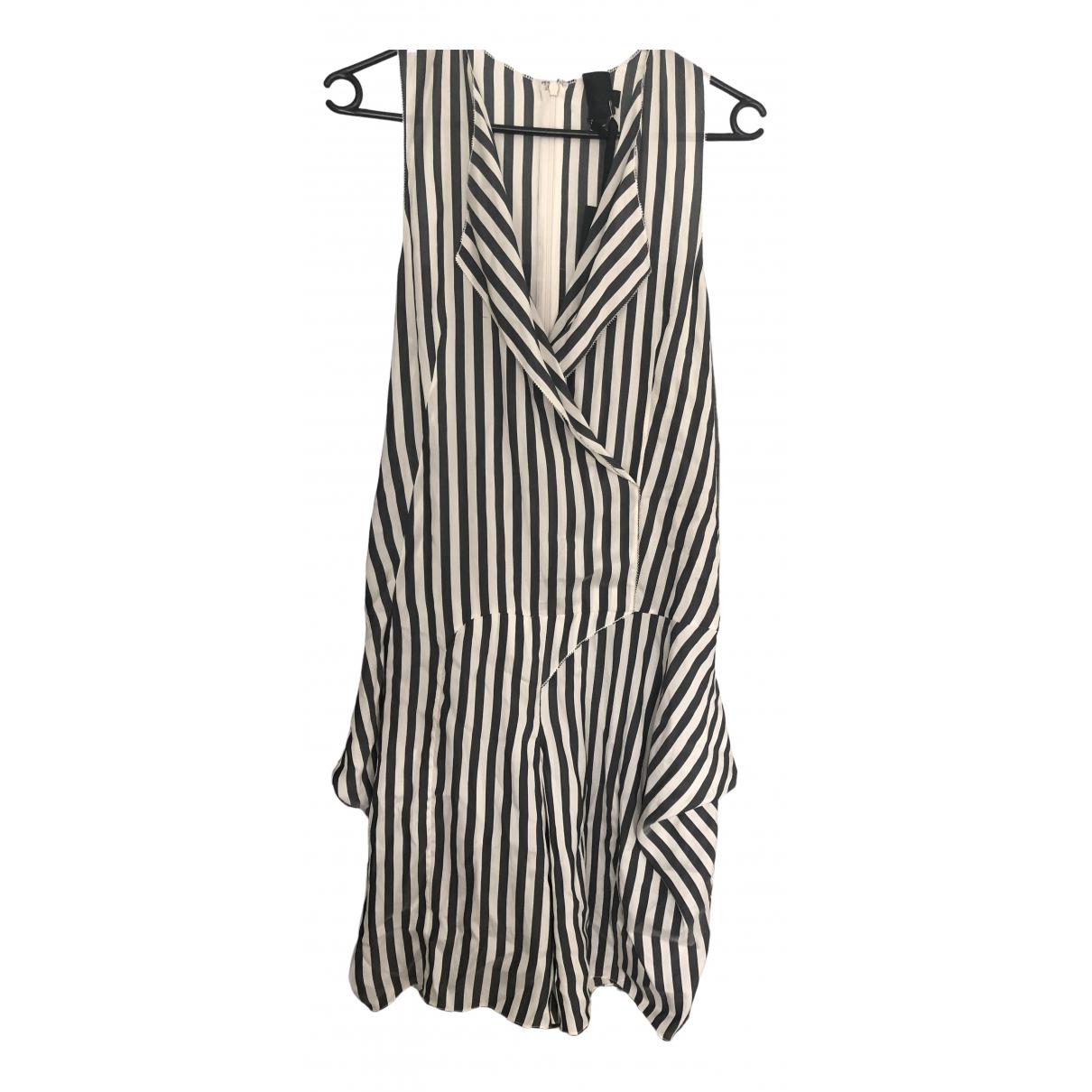 Vera Wang - Combinaison   pour femme en soie - blanc