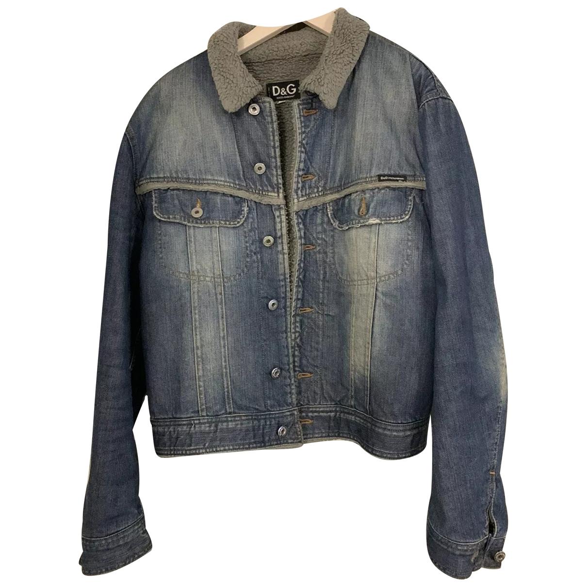 D&g \N Blue Denim - Jeans jacket  for Men L International