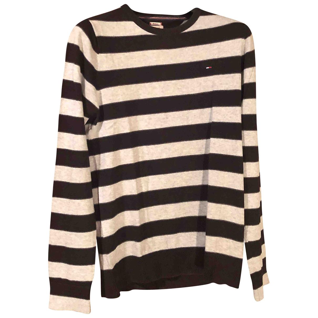 Tommy Hilfiger \N Black Cotton Knitwear & Sweatshirts for Men M International